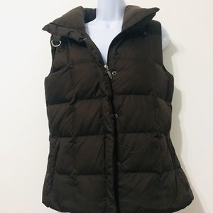 Eddie Bauer Goose Down Insulated Vest Jacket